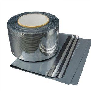 Ruban d'étanchéité pour sac de courrier en aluminium Bobbins