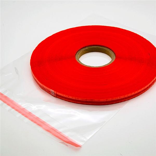 Ruban de scellage de sac refermable coloré