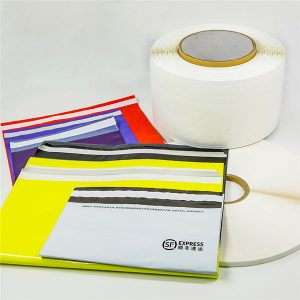 Ruban de cachetage personnalisé pour sacs Express en silicone