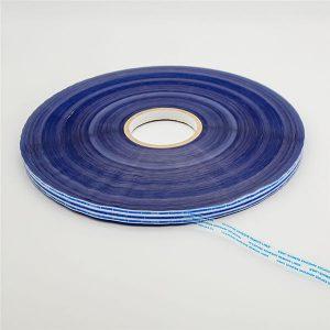 Ruban de scellement pour sac permanent avec film bleu