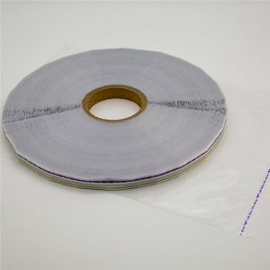 Ruban de scellage de sac refermable en silicone