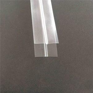 Fermeture éclair de sac en plastique transparent